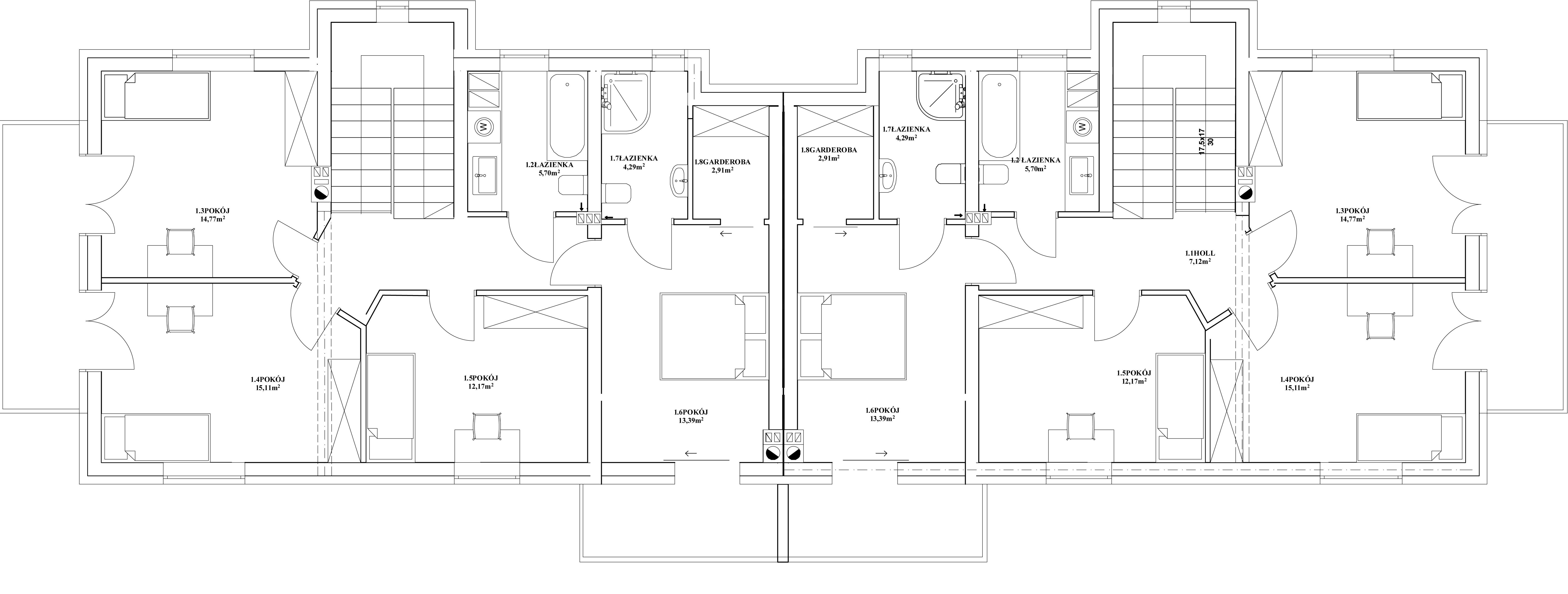 WELL-BALANCED HOUSE PIĘTRO
