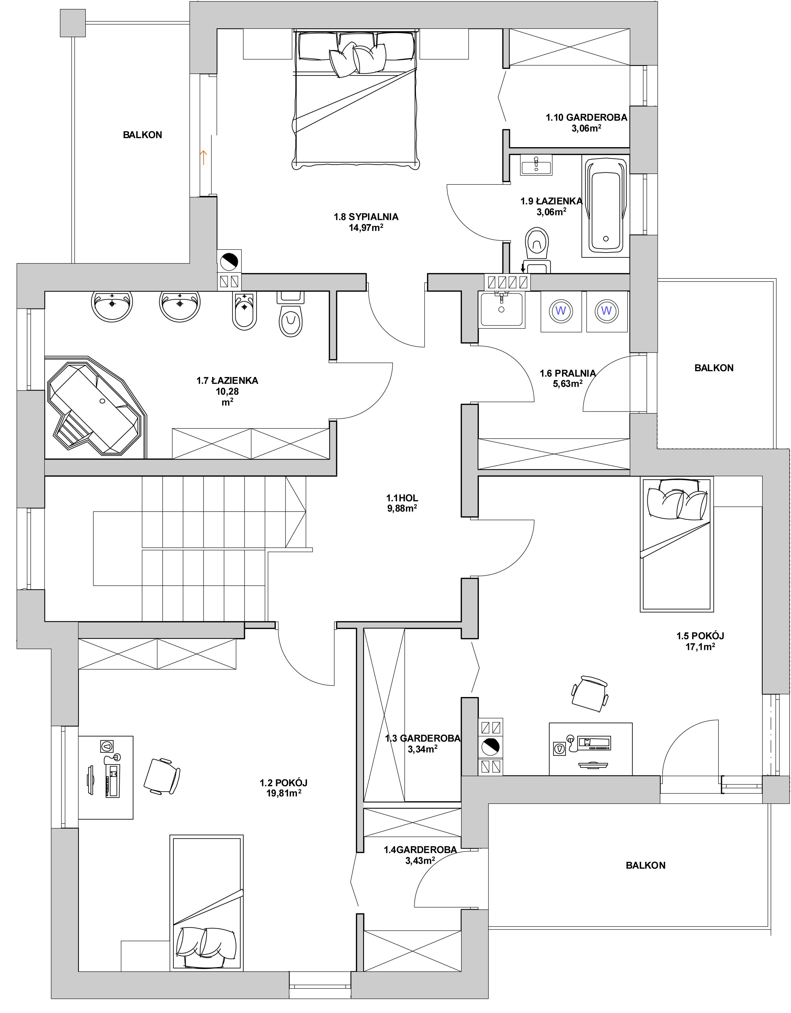 COMFORT HOUSE PIĘTRO